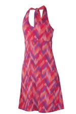 Women's Ibex Kira Dress 100% Merino Wool Peony Pink Small