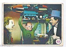 1967 Scanlens Batman BAT LAFFS (48) Joker, Riddler, Penguin