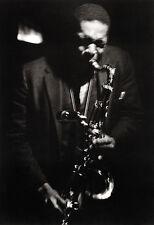 John Coltrane Poster, Playing the Saxophone