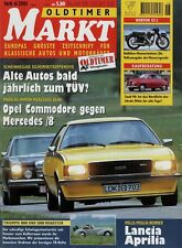 Oldtimer Markt 2001 6/01 Ford 12M Kombi Honda XL 250 Norton ES2 Saab 96