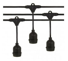 Livivo Outdoor String Light With Hanging Sockets - Waterproof