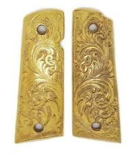 1911 and Clones Grips Parts Accessories, Gold Flower, Colt, Holiday Gift