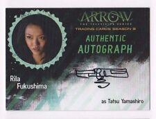 Cryptozoic Arrow Season 3 auto autograph card Rila Fukushima RF
