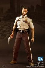 hot DS Toys 1/6 DS02 Zombie Police (The Walking Dead) Rick Grimes Action Figure