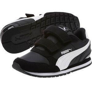 NIB Kids Black/White Puma Sneakers (2.5)
