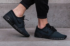 NIKE STEFAN JANOSKI MAX Trainers Gym Casual SB Air - UK 9 (EU 44) - Triple Black