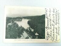 Vintage Postcard Lake Mohonk Scene Ulster County NY New York Posted 1906