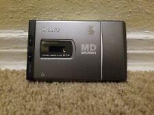 Sony Md MiniDisc Player Mz-E40 Portable Walkman Mega Bass 1998