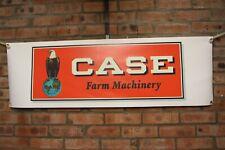 Case Farm Machinery large pvc Work Shop Banner garage man cave show banner