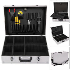Aluminium Lockable Electrician Flight Case Tool Box Storage Portable Tool Boxes