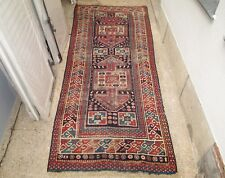 An Antique Caucasian Runner Rug