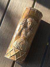 Orchids of Hawaii  1950's 60's Hula Girl Tiki Mug Made in Japan (40Available)