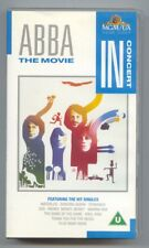 """Abba VHS Video - The Movie """"In Concert"""""""