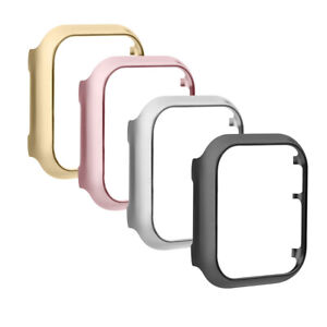 2PCS For Apple iWatch Series 654321 Protective Case Cover Skin Accessories Frame