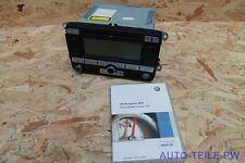 VW RNS 300 CD MP3 Navigation Passat Caddy Touran Golf 5 6 Tiguan 1K0035191 D !!!