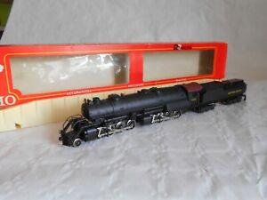 Rivarossi 1265 2-8-8-0 Mallet Baltimore and Ohio steam locomotive excellent