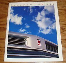 Original 1992 Oldsmobile Full Line Deluxe Sales Brochure 92 Ninety Eight