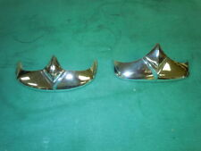 Panhead  Front and Rear Chrome Fender Tips Duo Glide