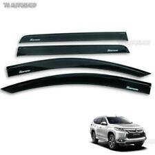 Fits Mitsubishi Montero Sport Suv 4x2 4x4 2016 Blk 4Dr Windshield Weather Guards