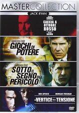 JACK RYAN (4 DVD) - CACCIA A OTTOBRE ROSSO/GIOCHI DI POTERE... cof.unico
