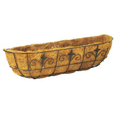 """Panacea 88518 Classic Finial Window & Deck Planter with Coco Liner, 30"""","""