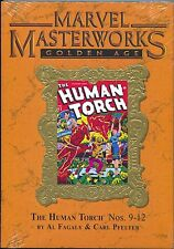 Marvel Masterworks Golden Human Torch 142 HC 2010 NM Variant 9-12 1229 Sealed