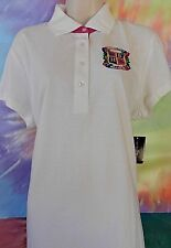 Beverly Hills Polo Club Women's White's Casual Blouse MSRP $48.00