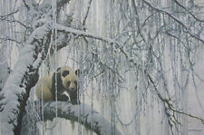 ROBERT BATEMAN - WINTER FILIGREE - GIANT PANDA - SIGNED, NUMBERED AND WITH C.O.A