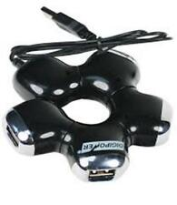 Digipower 4 port USB Hub-High Speed 2.0