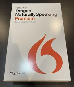 Nuance Dragon NaturallySpeaking Premium 13 w/ Headset - New