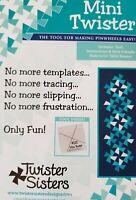 Jolly Twister Sisters Christmas Santa Elf Pinwheel Wall Lap Quilt Pattern