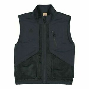 Nike ACG Full-Zip Utility Vest Men's Size XS Black BQ3619-010