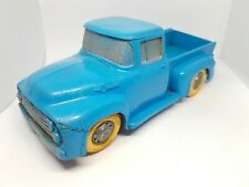 1950's Ford F100 Pick Up Truck Tomte Toys Stavanger Norway Rare large scale blue