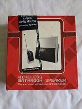 Wireless Bathroom Speaker