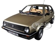 1988 VOLKSWAGEN GOLF CL METALLIC BEIGE 1/18 DIECAST MODEL CAR BY NOREV 188519
