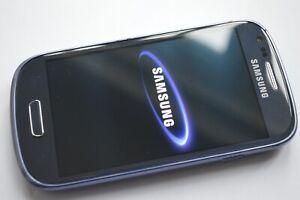 Samsung Galaxy S III Mini GT-I8190N - 8GB - Pebble Blue (Unlocked) Smartphone