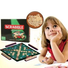 Scrabble Board Game Classic Crossword Game Kids Family Party Puzzle Game