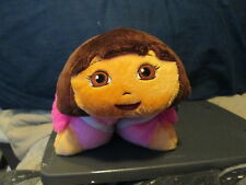 "Dora the Explorer Pee Wee Pillow Pet 11"" Stuffed Plush Girl New With Tags"