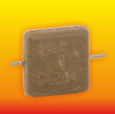 2400 pF 500 V 5 % LOT OF 4 RUSSIAN MILITARY SILVER-MICA CAPACITOR KSO-5W КСО-5В
