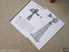 Challenge Xray Steel  Pumping Windmill Diagrams & Trade Description