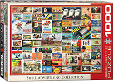 Eurographics Jigsaw Puzzle Shell Oil Advertising Collection 1000 Pieces