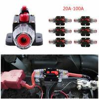 Fusibile 12V Protezione Circuito Linea Audio Stereo Auto Con Interruttore