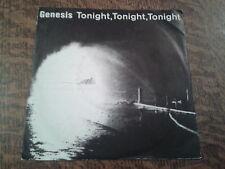 45 tours genesis tonight tonight tonight