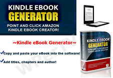 Amazon Kindle Ebook Creator - Easy to use Kindle Ebook Generator Software - cd