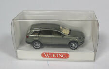 WIKING 1330230 AUDI Q7 SUV GREY METAL 1/87 HO 4X4 MADE IN GERMANY MODELISME