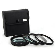 Jackar 55mm Close-Up Filter Set (+1,2,4,10) For Canon Nikon Sony Olympus Pentax