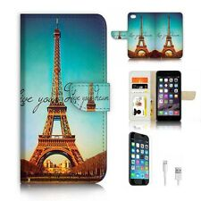 ( For iPhone 6 Plus / iPhone 6s Plus ) Case Cover P6213 Paris Eiffel Tower