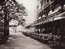 1890/1963 Vintage 11x14 Street Scene Architecture Paris France Art EUGENE ATGET