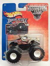 Hot Wheels Monster Jam Monster Truck JURASSIC ATTACK #20 Diecast 1/64Scale 2003