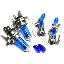 CHEVROLET MATIZ 55w ICE BLUE XENON HID ALTO/BASSO/Nebbia/laterale dei fari lampadine Set